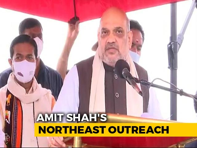 Video : PM Modi In Lead Role In Fight Against Climate Change: Amit Shah