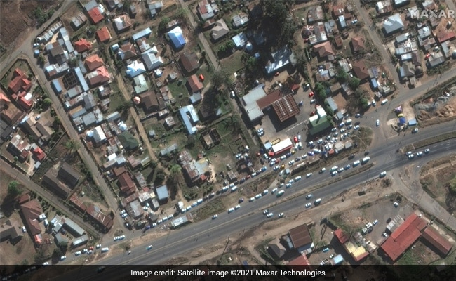 Food Queues, Buildings On Fire: Satellite Images Of South Africa Violence