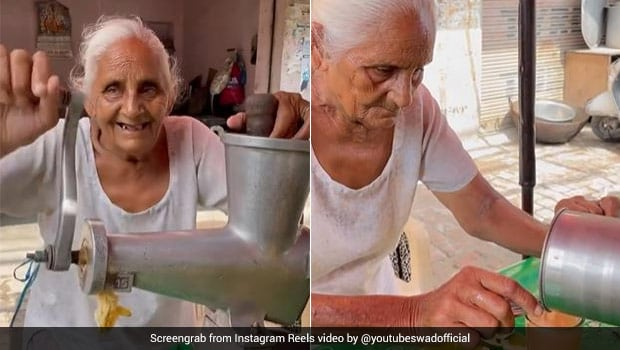 Video Of Amritsar Lady's Juice Stall Goes Viral, Internet Offers Help