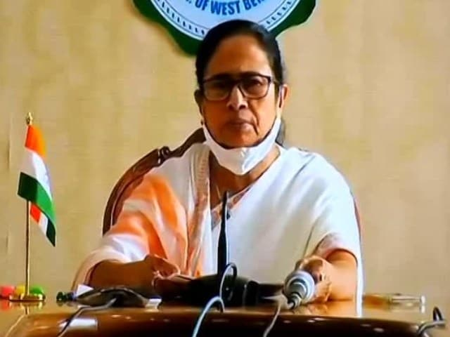"""Video : """"Not Getting Enough Vaccines, Will Write To PM For Them"""": Mamata Banerjee"""