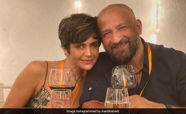 Mandira Bedi Posts Memory With Raj Kaushal And A Broken Heart