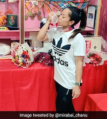 'Feeling Is Inexplicable': Mirabai Chanu Shares Pics With Olympic Silver