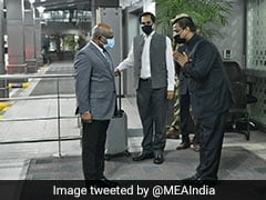 Maldives Foreign Minister Arrives In India, To Hold Talks With S Jaishankar
