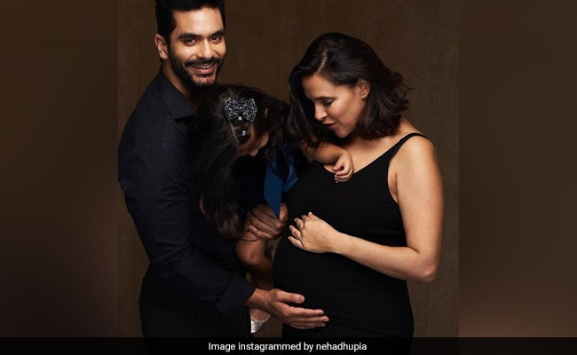 """Neha Dhupia And Angad Bedi Announce Second Being pregnant. """"Thank You, God,"""" She Writes"""