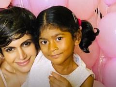 "Mandira's Daughter ""Wasn't Denied"" Her 1st Birthday Celebration. See Pic"