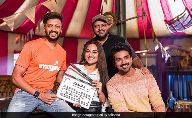 सोनाक्षी सिन्हा की हॉरर फिल्म 'ककुड़ा' की शूटिंग शुरू, अजीब अभिशाप की है कहानी
