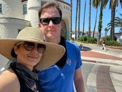 """Preity Zinta's Adorable Selfie With Husband Gene Goodenough On A """"Sunny California"""" Day"""