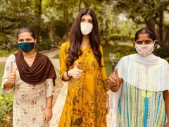 """Sanjana Sanghi On Getting Her Family Of """"Selfless Caretakers"""" Vaccinated Against COVID-19"""