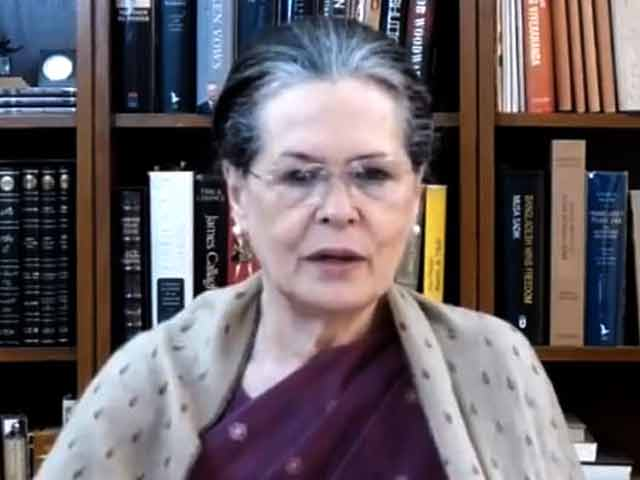 Video : Sonia Gandhi Recasts Parliamentary Groups, 'G-23' Leaders In The List