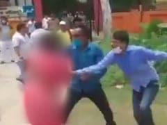"""Samajwadi Leader Whose <i>""""Saree""""</i> Was Yanked In UP Panchayat Polls Joins Congress"""
