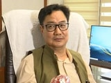 """Video : """"Huge Challenge, Responsibility"""": Kiren Rijiju Takes Charge As Law Minister"""