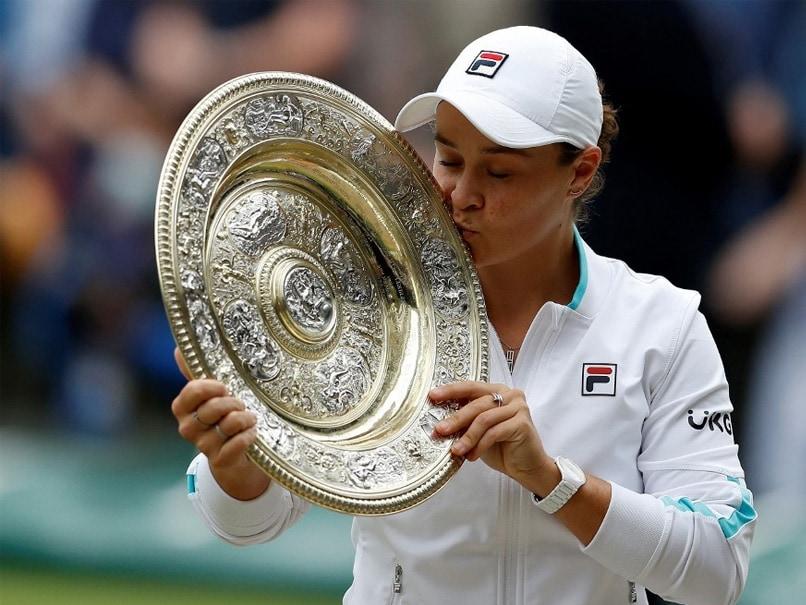 Ashleigh Barty Beats Karolina Pliskova To Win Maiden Wimbledon Crown