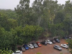 Rain In Parts Of Delhi Brings Relief From Intense Heat Wave