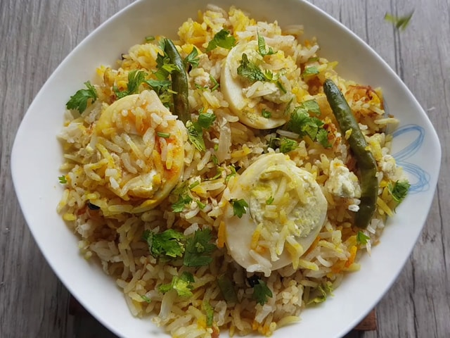 Video : How To Make Egg Biryani | Easy Egg Biryani Recipe