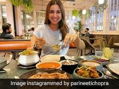 Parineeti Chopra: लंदन में भारतीय खाने को देख भावुक हुई परिणीति चोपड़ा, देखें तस्वीरें