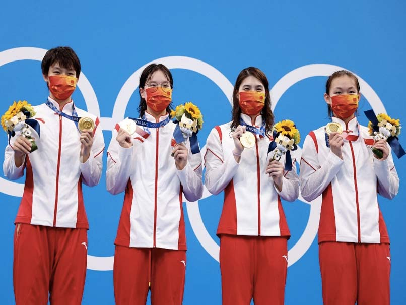 Tokyo Olympics: China Smash World Record To Win Womens 4x200m Freestyle Swimming Relay Gold