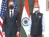 Video : Afghanistan, Quad, Covid Headline S Jaishankar-Antony Blinken Talks