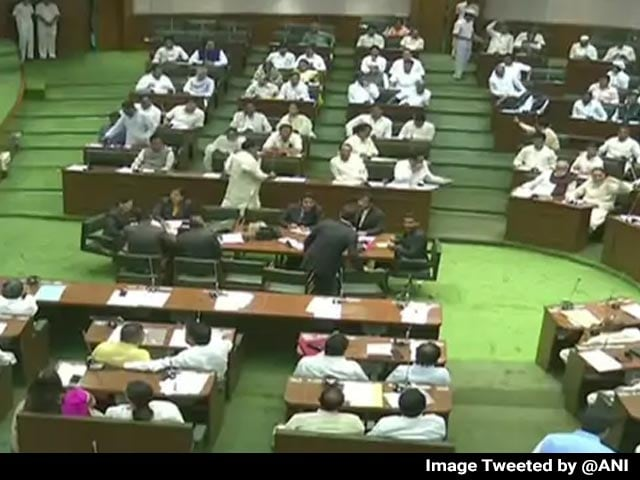 Video : 12 BJP MLAs In Maharashtra Disqualified For Abusing Assembly Speaker