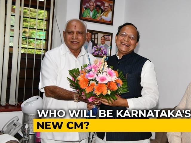 Video : Karnataka Meet On BS Yediyurappa Successor Soon, Announcement Tomorrow