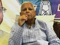 """""""Will Die But Won't Retreat"""": Lalu Yadav's First Appearance After Jail"""