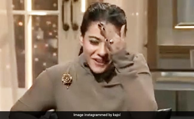 Kajol's Reaction To Kuch Kuch Hota Hai Dialogue Is Cracking Up The Internet