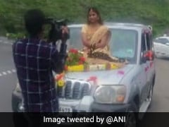 Bride Charged For Travelling To Wedding Venue On Bonnet Of SUV: Pune Police