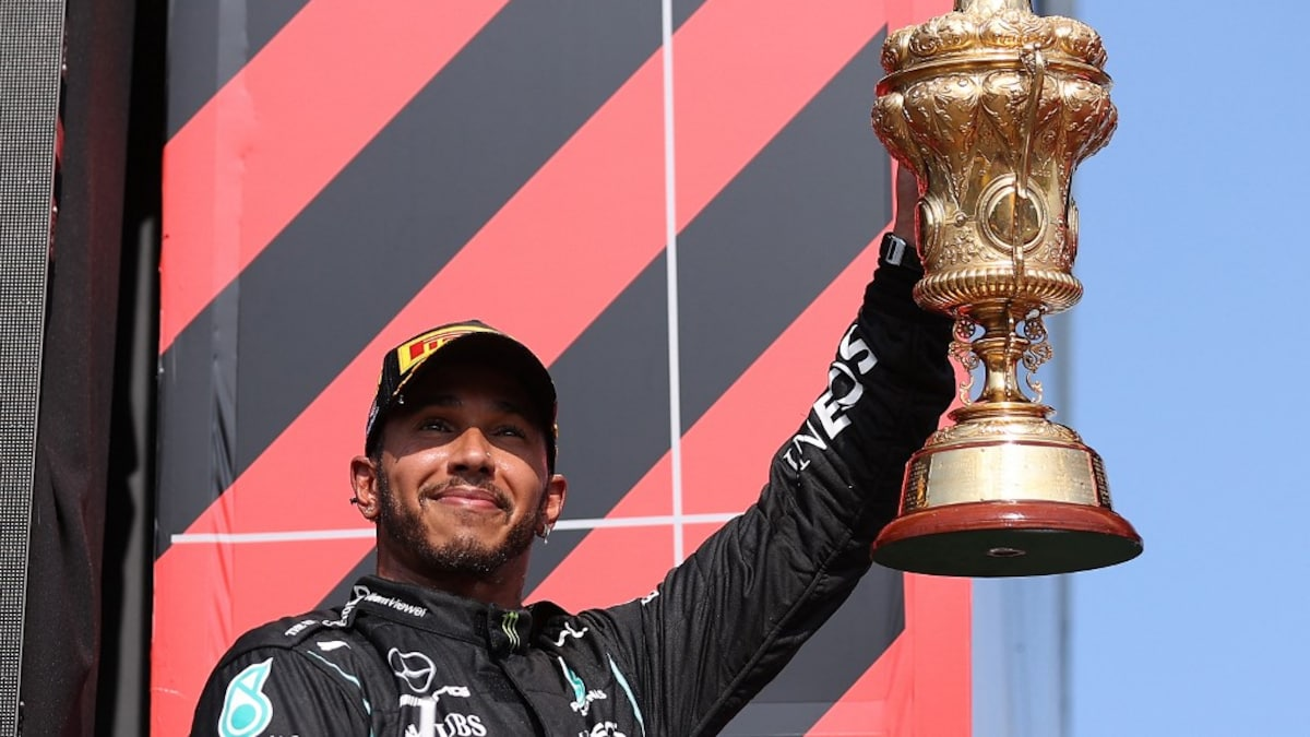 """Formula 1: Lewis Hamilton wins """"Hollow"""" after Britain's eighth Grand Prix after colliding with Max Verstapp    Formula 1 News"""