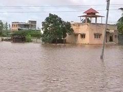 People Take Refuge On Roofs, Maharashtra Villages Cut Off Amid Flood Fury