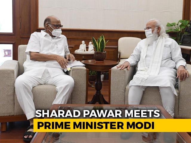 Video : In PM-Sharad Pawar's 50-Minute Meet, New Ministry, Farmers Discussed
