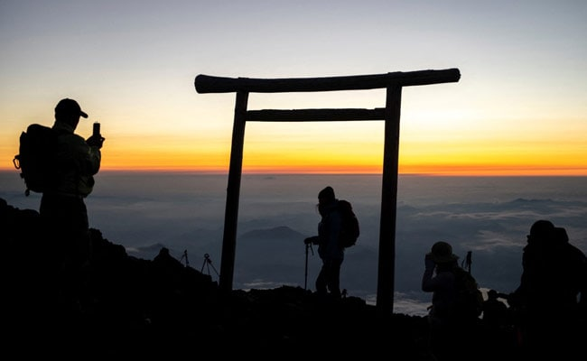 'Purified': Japan's Hikers Return To 'Revered' Mount Fuji