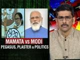Video : Mamata Banerjee Vs PM Modi: Pegasus, Plaster And Politics