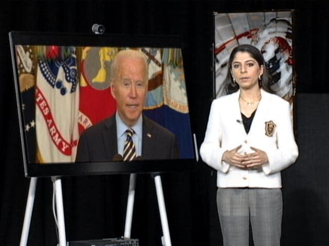 Video : Joe Biden On Rapid Withdrawal Of US Troops From Afghanistan