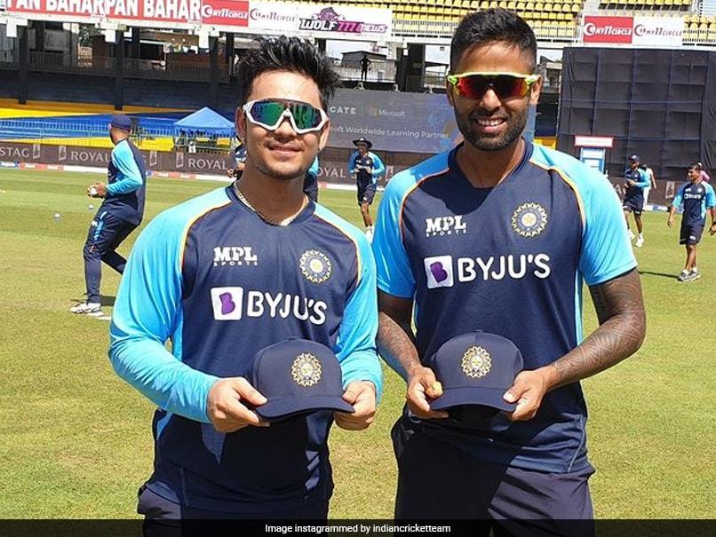 "Sri Lanka vs India, 1st ODI: ""Moment To Cherish"" For Suryakumar Yadav, Ishan Kishan As They Make ODI Debuts"