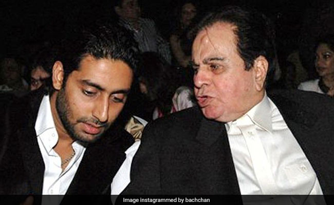 When Abhishek Bachchan Almost Got The Opportunity Of 'Sharing Screen Space' With Dad Amitabh Bachchan's 'Idol' Dilip Kumar