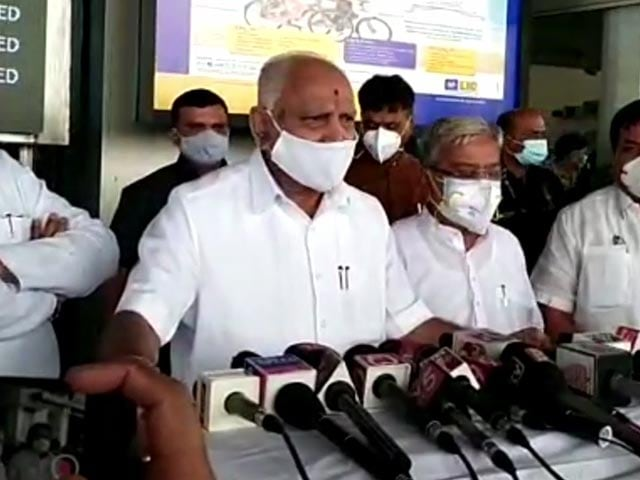 """Video : """"If The Message Comes By Evening..."""": BS Yediyurappa On Replacement"""