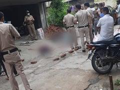 दिल्ली के कृष्णा नगर में चौथी मंजिल से गिरने से 2 कारोबारियों की मौत