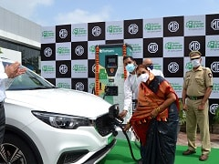 एमजी मोटर इंडिया ने पुणे में लगाया 50 kW का सुपरफास्ट चार्जिंग स्टेशन