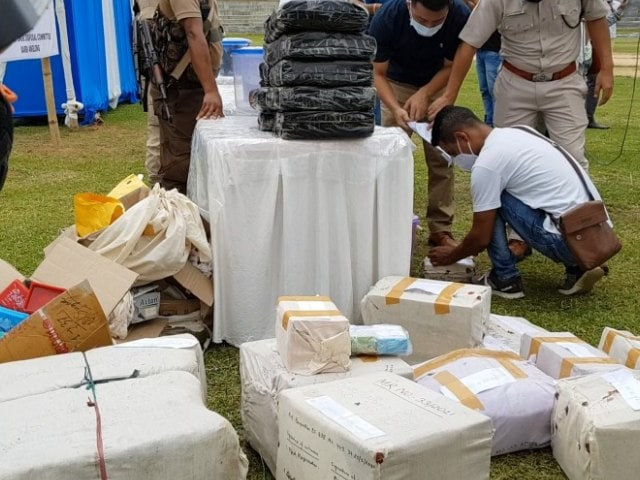 Video : Assam Starts 2-Day Drive To Burn In Public Drugs Worth Rs 163 Crore
