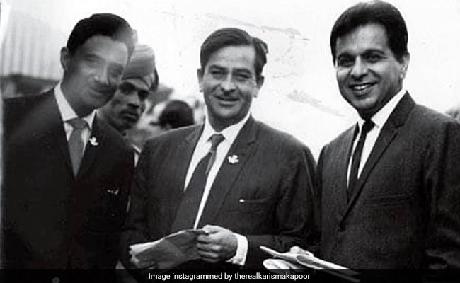 'Legendary Trio' Of Dilip Kumar, Raj Kapoor And Dev Anand Make A Comeback Via Karisma's Instagram