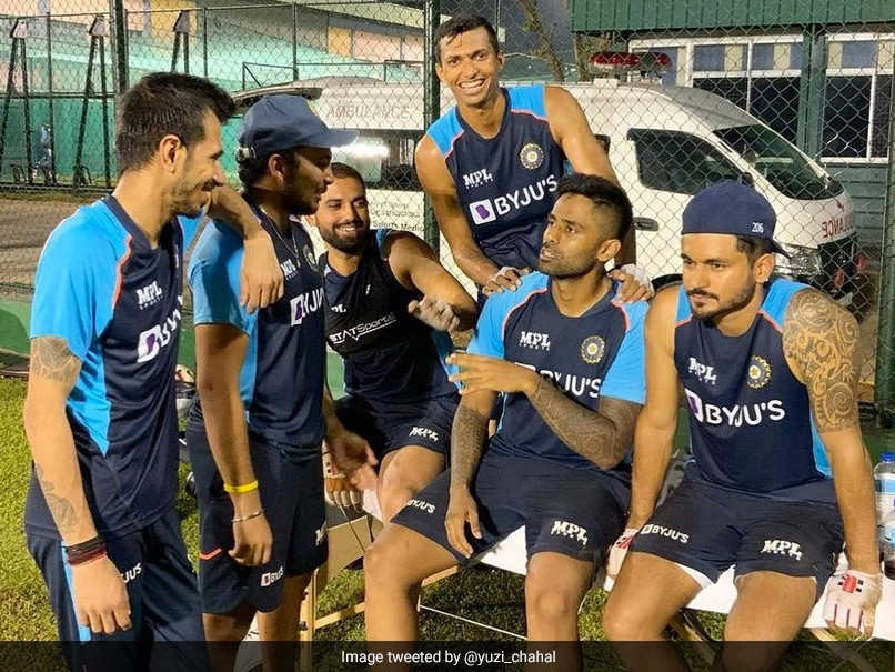 """Sri Lanka vs India: Yuzvendra Chahal Posts Team Indias """"Gossip Time"""" Picture From Colombo"""