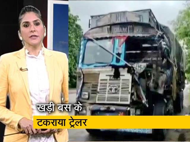 Videos : देश प्रदेश : यूपी के बाराबंकी में दर्दनाक हादसा, 18 बस यात्रियों की मौत