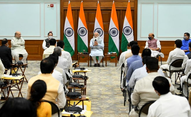 Union Cabinet To Meet Physically Today After More Than A Year