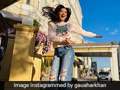With Zaid Darbar By Her Side, Gauahar Khan's Moscow Diaries Are Complete With Stylish Travel Looks