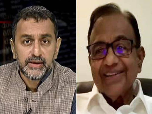 Video : Cess Has Become A Permanent Feature Of NDA: P Chidambaram To NDTV