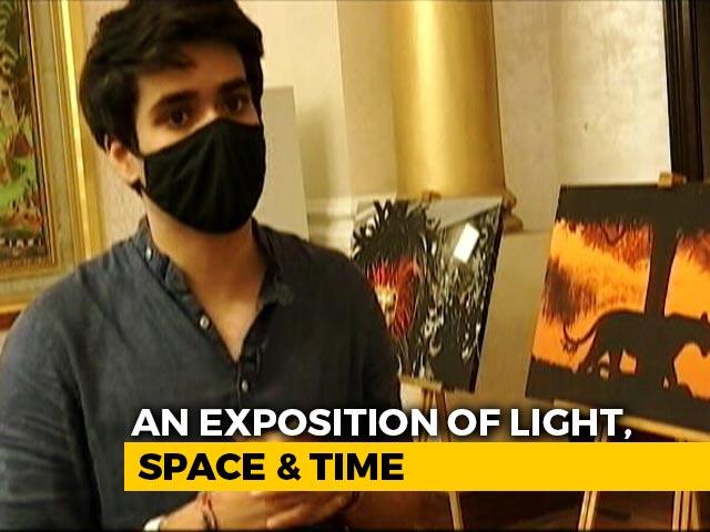 Video : Priyanka Gandhi Vadra's Son Explores Darkness In Delhi Photo Exhibition