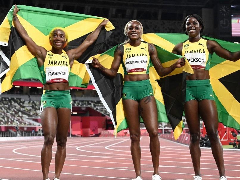 Tokyo Olympics: Jamaicas Elaine Thompson-Herah Wins Womens 100m Final
