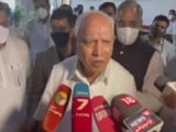 Video : BS Yediyurappa Says May Not Remain Chief Minister After This Weekend