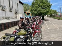 Army Organises Motorcycle Rally To Mark 22 Years Of Kargil War Victory