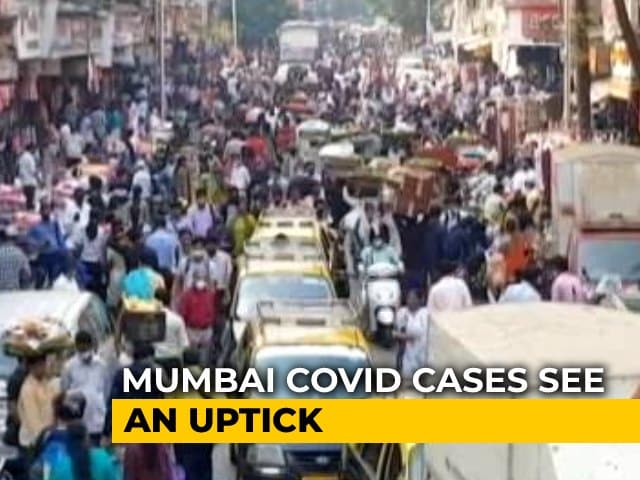 Video : Mumbai Covid Cases See An Uptick