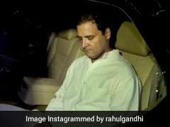 On Rahul Gandhi's Oxygen Tweet, Minister Giriraj Singh's Post In Italian